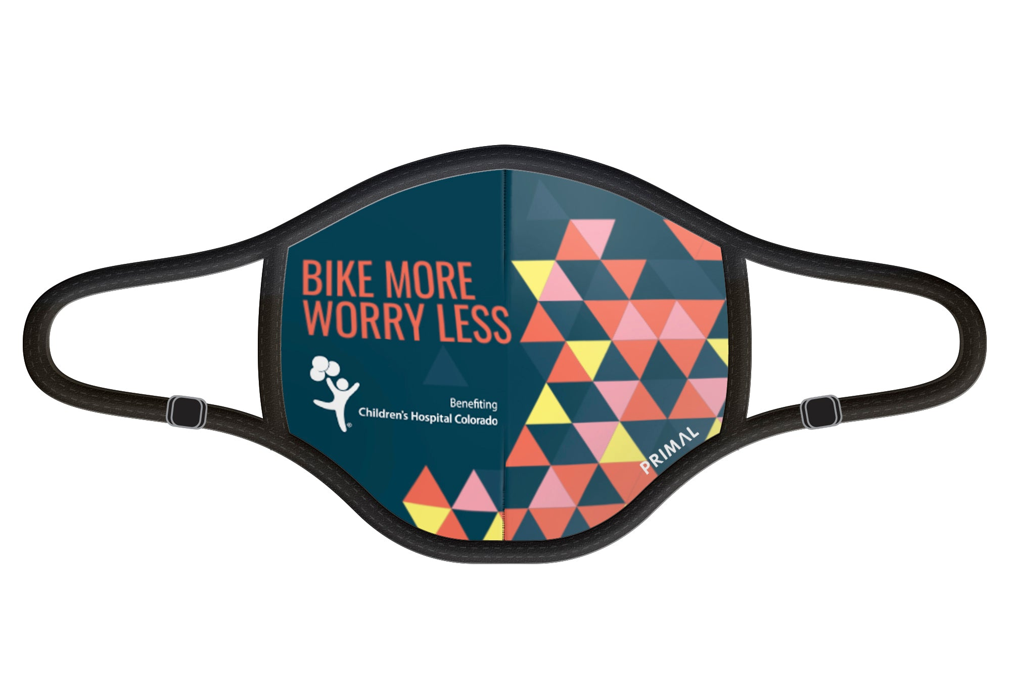 Bike More Worry Less Face Mask 2.0