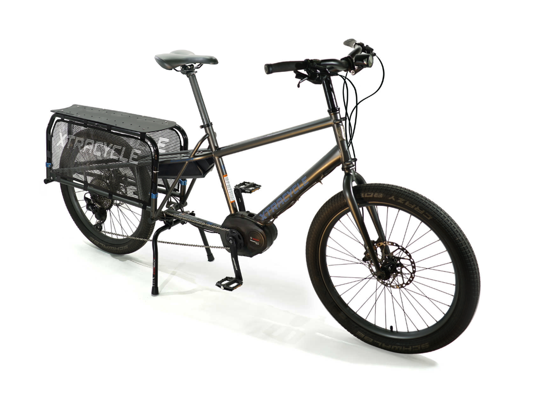 "Xtracycle eStoker 24"" Wheeled Electric Longtail Cargo Bike"