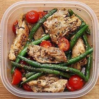 Pesto Chicken & Veggies