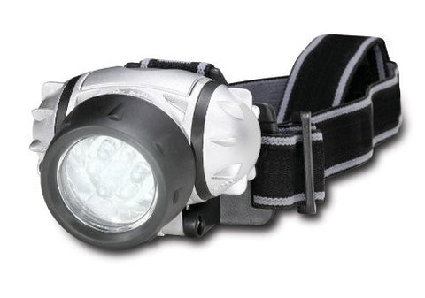 Adjustable LED Head Lamp With Pivoting Light 7 Bright LED - Perfect Life Ideas