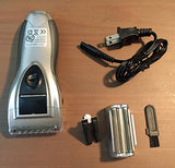 Cordless Foil Shaver For Men - Double Head Electric Rechargeable - Perfect Life Ideas