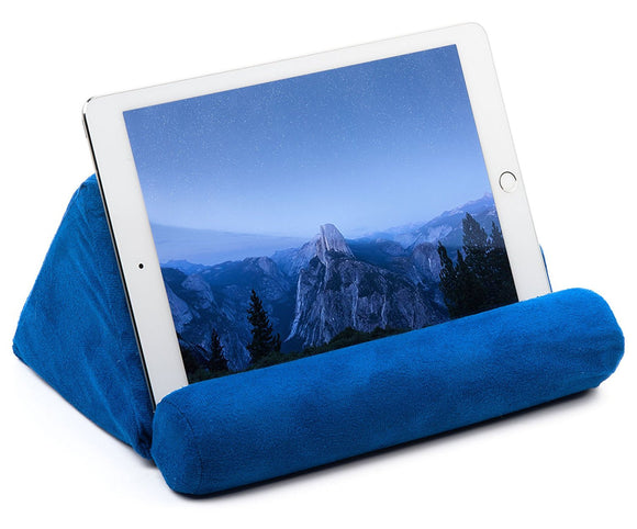Tablet Pillow For Galaxy And IPad, Plush Microfiber Mini Tablet Computer Holder - Perfect Life Ideas