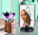 Lighted Makeup Vanity Mirror with Lights – Led Travel Make Up Mirror - Perfect Life Ideas