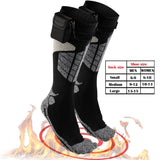 Heated Electric Warm Thermal Socks – BO Winter Foot Warmers Weather - Perfect Life Ideas