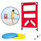 Outdoor Backyard Disc Toss Target Lawn Game -Flying Disc Throwing Game - Perfect Life Ideas