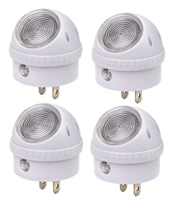 LED Night Light Lamp 2 Pcs Set, 360 Degree Rotating Head with Sensor - Perfect Life Ideas