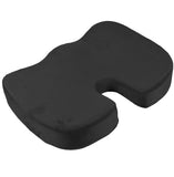 Office Chair, Car, Wheelchair Memory Foam Seat Cushion - Butt Donut Pillow for Tailbone Pain as Coccyx Egg Sitter Cushions – Great for Travelling  - Take it Everywhere with You - Lumbar Back Support - Perfect Life Ideas