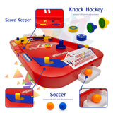 Two Player Desktop Soccer Hockey Game - 2 in 1 Soccer and Hockey Game - Perfect Life Ideas