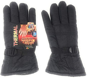 Thermal Warm Winter Gloves for Men – Insulated Cold Weather Gloves