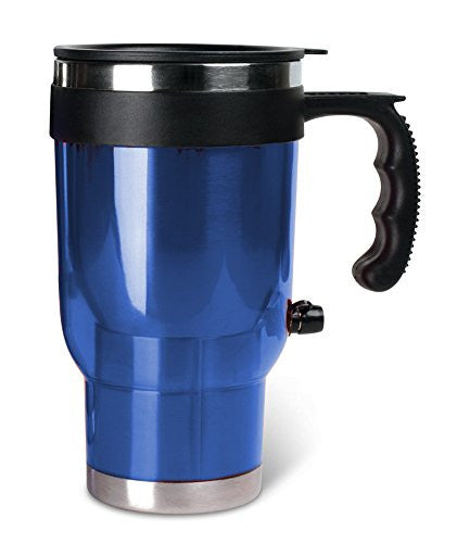16 Oz Travel Mug Heated In Your Car Insulated Keep Drinks Warm 12V DC - Perfect Life Ideas