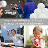 Snowball Fight with Ball Launcher Shooter Snowball Blaster Gun Toys - Perfect Life Ideas