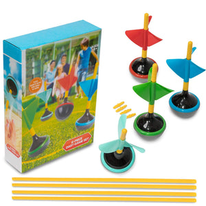 Backyard Lawn Dart Toss Game for Kids 6 Pcs Fun Family Outside Activities - Perfect Life Ideas