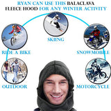 6 in 1 Balaclava Windproof Winter Fleece Face Mask –Ski & Motorcycle - Perfect Life Ideas