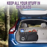 Auto Storage Car Console Travel Organizer - Multiple Pockets Caddy Bin - Perfect Life Ideas