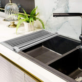 Over The Sink Dish Drying Rack - Heat Resistant Trivets for Hot Dishes - Perfect Life Ideas