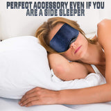 Sleep Eye Mask for Women and Men - Includes Headphones and Microphone - Perfect Life Ideas