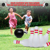 Family Games Bowling Inflatable Toys – Giant Party Outdoor Game Set - Perfect Life Ideas
