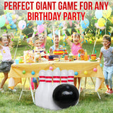 Family Games Bowling Inflatable Toys – Giant Yard Party Outdoor Games for All Ages - Family Fun Pack Indoor Backyard Lawn Carnival Kids Adults Game Toy Set Includes Jumbo Bowling Ball and 6 Large Pins - Perfect Life Ideas