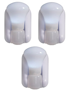 3 Pack Battery Operated LED Light Bulbs Peel and Stick Anywhere Lamp - Perfect Life Ideas