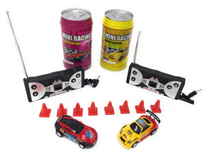 Mini RC Remote Control Car - Race Cars Miniature Toys in Soda Can - Perfect Life Ideas