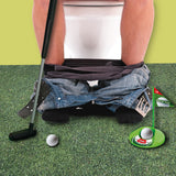 Golf Potty Putter Putting Game-Golfing Practice Mini Golf Gag Gift Set - Perfect Life Ideas