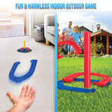 Horseshoes Game as Outdoor Games for Family - Horseshoe Set - Perfect Life Ideas