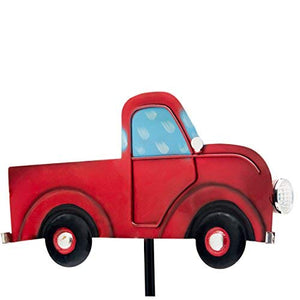 Outdoor Solar Garden Stake Lights - Vintage Truck Garden Decor Light - Perfect Life Ideas