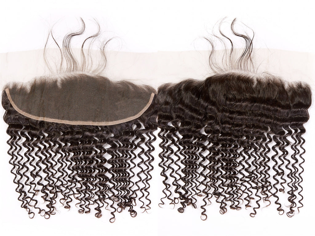 Transparent Pre-Plucked Lace Frontals (13×4)