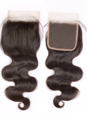 Transparent Pre-Plucked Lace Closures (4×4)