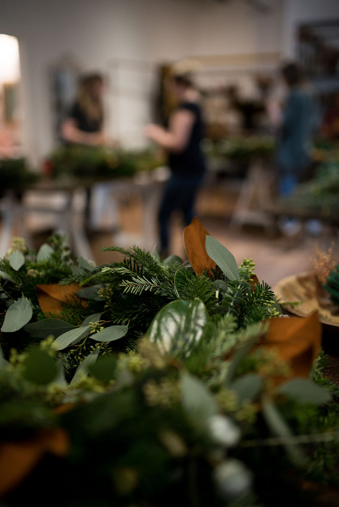 Holiday Wreaths | Hawthorn Community Class