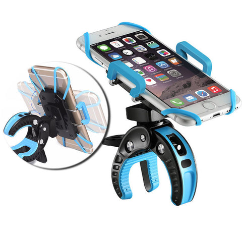 newest b8f97 86c93 Motorcycle Bicycle MTB Bike Handlebar Mount Holder For Cell Phone iPhone 7  GPS