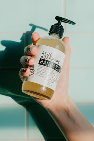 Aloe Rosemary Hand + Body Wash