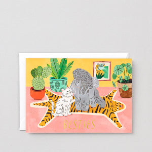WRAP- Besties Greeting Card