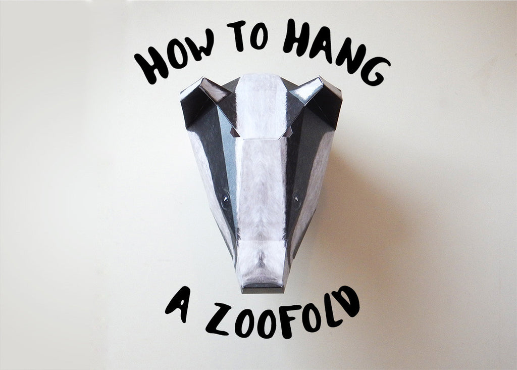 How to Hang Your Zoofold
