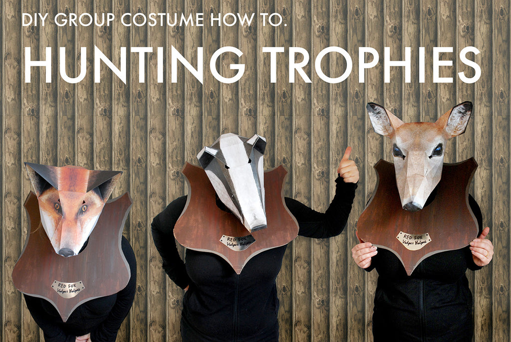DIY Group Costume How To: Hunting Trophies