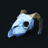 Paper Halloween Animal Skull