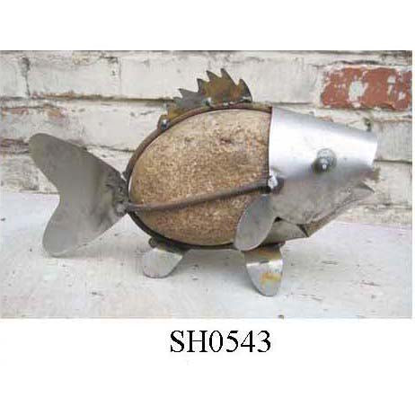 SH0543 Tabletop stone fish ... $400 for 80 pieces