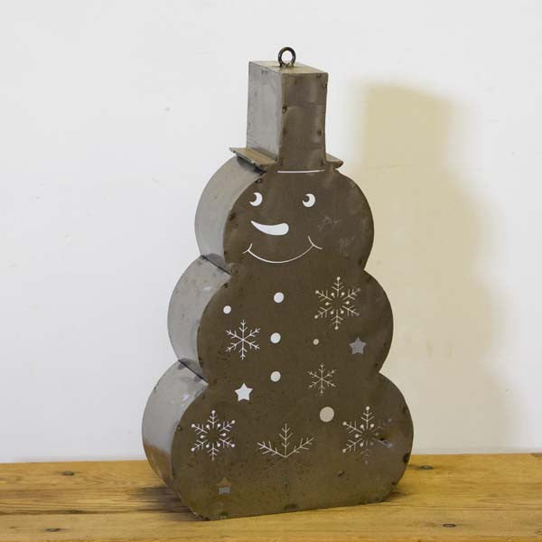 W3859TL Snowman tee light holder