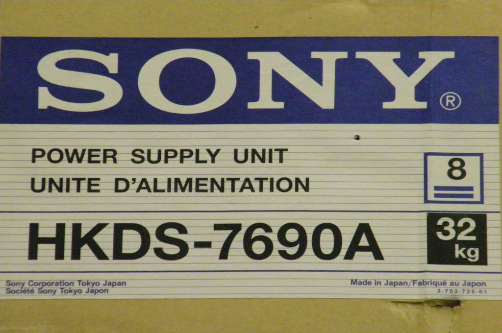 Sony HKDS-7690A Production Switcher Power Supply