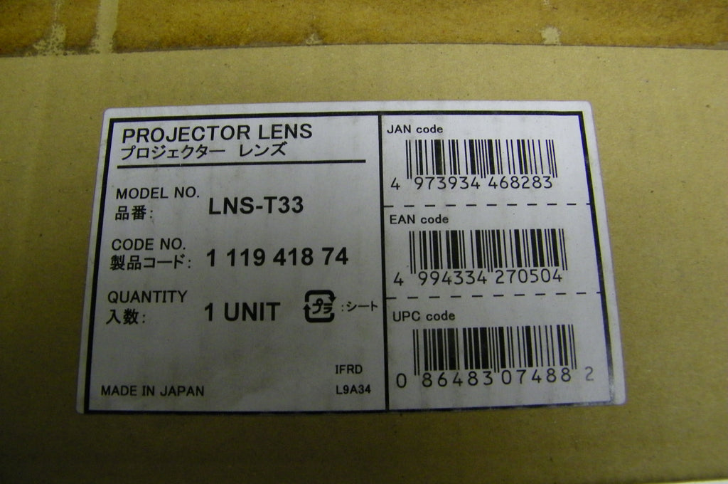 Sanyo LNS-T33 Ultra Long Zoom Lens