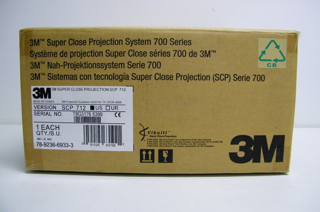 3M SCP712 Super Close Projection System