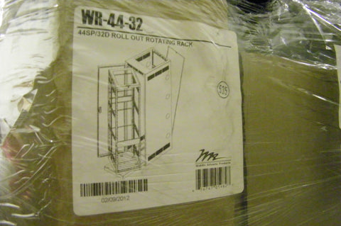 "WR Series 26"" D Roll Out Rotating System in Steel Host Enclosure Rack Spaces:..."