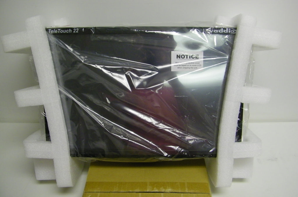 "vaddio 999-5520-022 TeleTouch 22"" HD Touch Screen LCD Monitor with Base"
