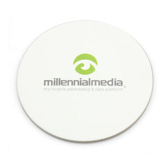 Round Absorbant Paper Coaster CG Coaster One Dollar Only