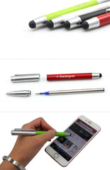 Metal Pen With Silver Cap CG Pens One Dollar Only