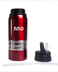 Stainless Steel Drinking Bottle With Thick Silver Strip