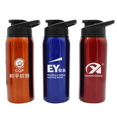 Stainless Steel Drinking Bottle With Flip Cap CG Drinkware One Dollar Only