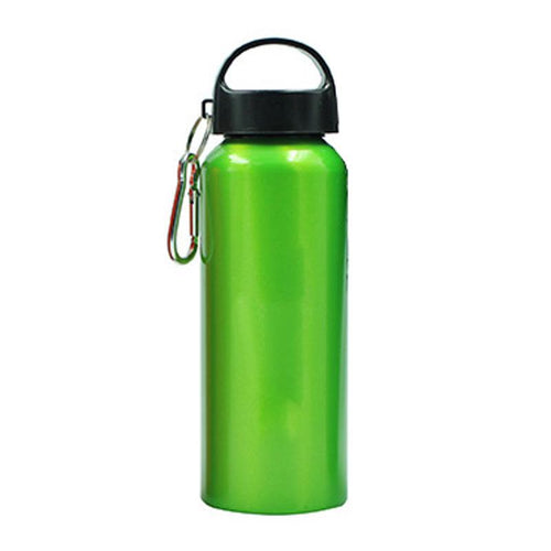 Stainless Steel Drinking Bottle With Broad Handle And Clip CG Drinkware One Dollar Only
