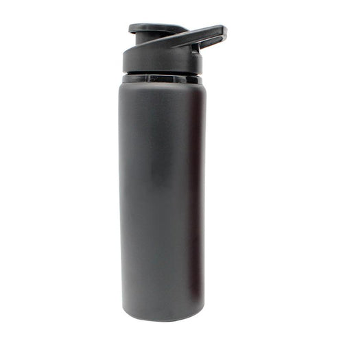 Stainless Steel Drinking Bottle With Matte Metallic Body CG Drinkware One Dollar Only