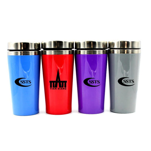 Insulated Drinking Bottle With Coloured Body CG Drinkware One Dollar Only